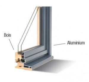 Fenêtre Aluminium Bois